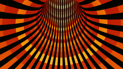 classic tunnel stripes Animation