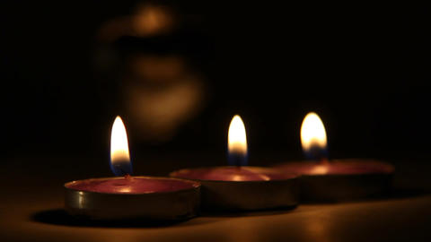 candles Stock Video Footage