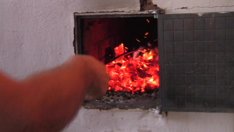 stove Stock Video Footage