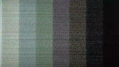 television interference Stock Video Footage