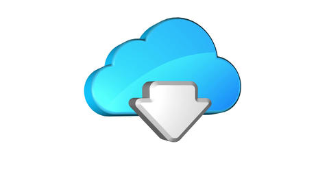 Cloud Download Animation