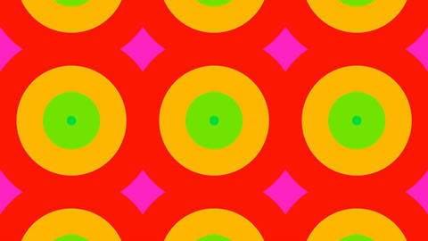 tile circle color Stock Video Footage