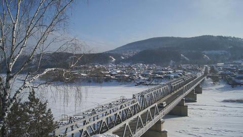 Bridge Over Mana River Footage
