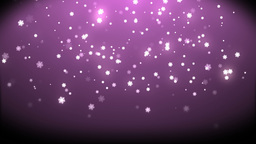 Rain stars christmas with background pink Animation
