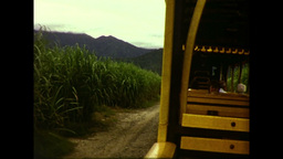 Balley Hooley Steam Train (1983 8mm Vintage Film Footage) Stock Video Footage
