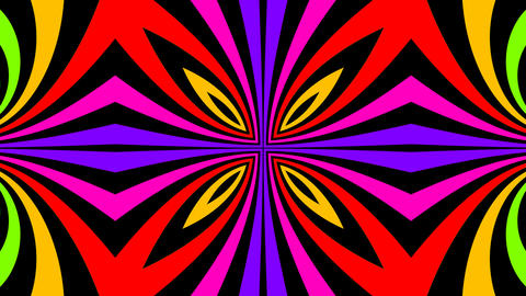 unfold flower colours Animation