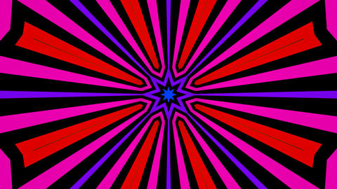 colorful radial lines Animation