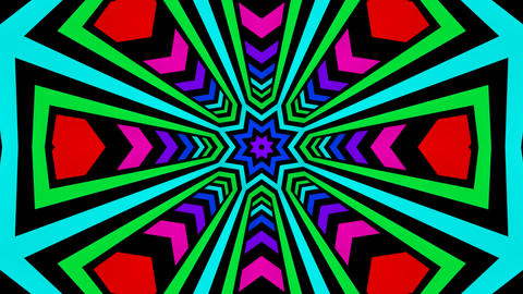 colorful radial lines Stock Video Footage