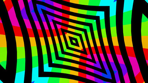 multicolors cross Animation