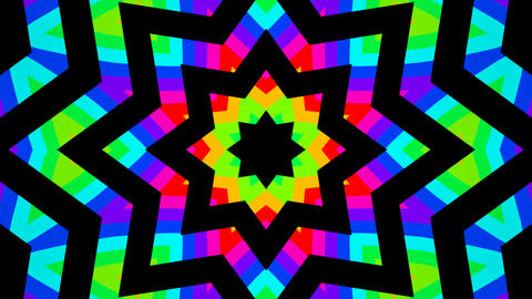 colorful shapes Stock Video Footage