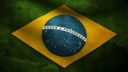 Brazil flag Animation