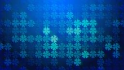 Trebol blue background CG動画素材
