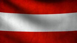 Austria flag Animation