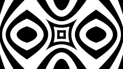 white kaleida Stock Video Footage
