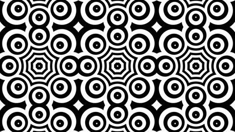 circle tiles Stock Video Footage