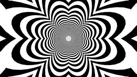 white dancing stripe Animation