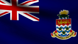 Cayman Islands flag Animation