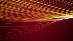 Red linear string loop background Animation