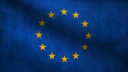 Europe flag Animation