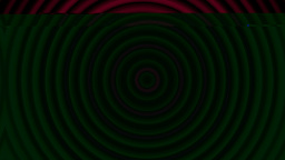 Psychedelic and hypnotized circles Animation