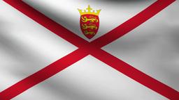 Jersey flag Animation