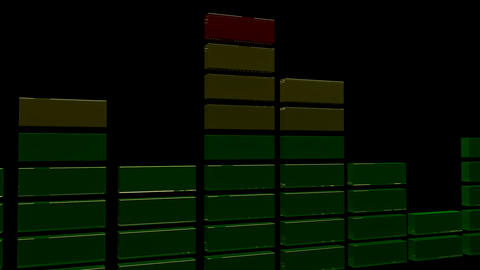 3d sound equalizer Animation