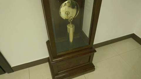 big clock 03 Stock Video Footage