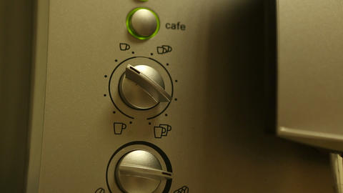 Coffee  Machine  01 stock footage