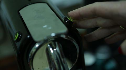coffee machine 07 Stock Video Footage