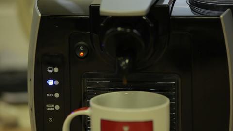 coffee machine 09 Filmmaterial