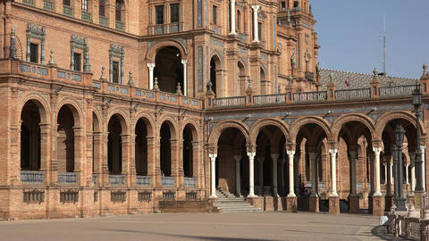 Architecture Of Spanish Royal Palace Live Action