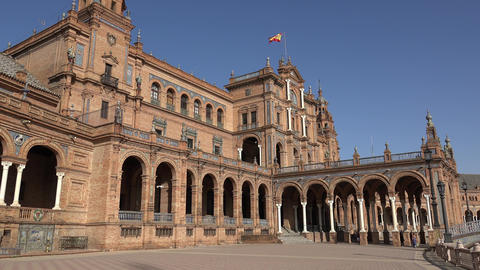 Royal Palace In Spain Live Action