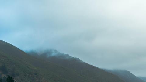 Mountain Mist Time-lapse Archivo