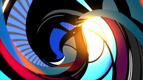 Psychedelic vortex tunnel Animation