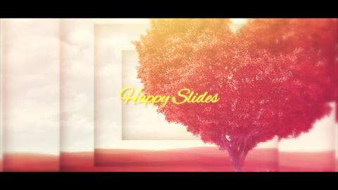 Happy Slides After Effects Template