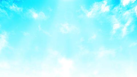 Mov148 cloud flare sky loop 08 CG動画