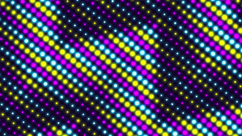 Neon Retro Wave Pattern Background 2