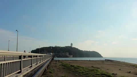 Japanese tourist destination. The road to Enoshima ライブ動画