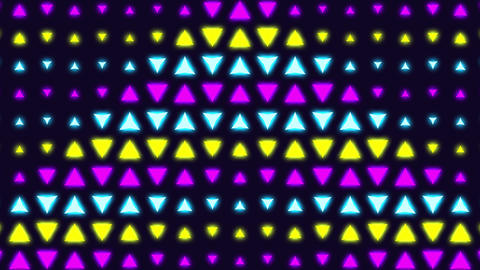 80s old school neon retro wave pattern, looped animated abstract background for a fun party, family Animation