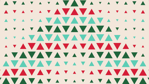 4K dot , vector vintage Triangle pattern, looped animated background for a party, holiday, Animation