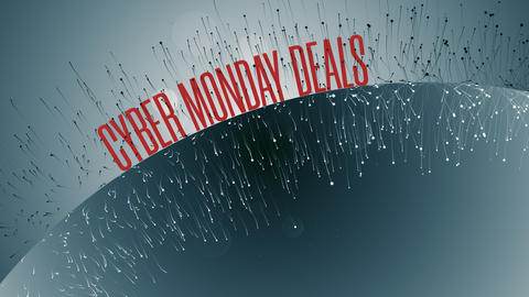 Animation With Cyber Monday Deals Text GIF