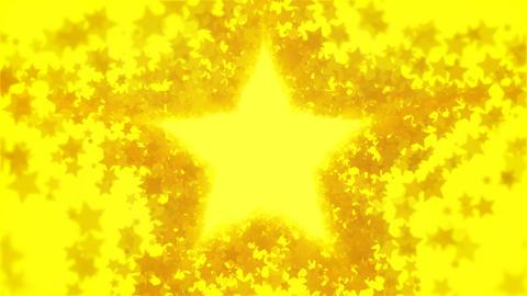 Golden moving stars background loop Videos animados