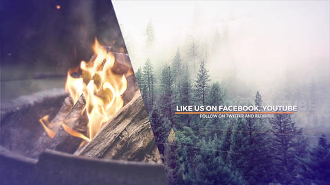 Parallax Journey After Effects Template