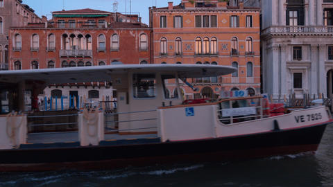Venice in the evening - the beautiful canals Footage