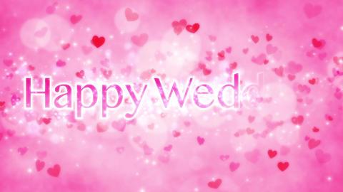 Pink Heart Wedding 2