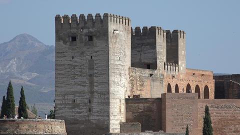 European Medieval Castle Towers Footage
