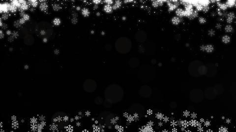 Chirstmas bg snow background Stock Video Footage
