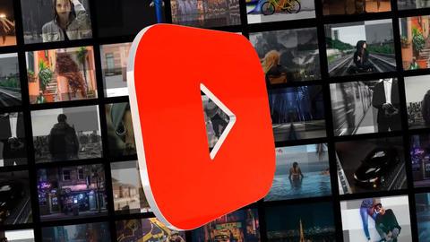 Glitch Social Media Logo Pack SALE AE / Youtube / Instagram 0