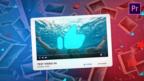 YouTube Promo Plantillas de Premiere Pro