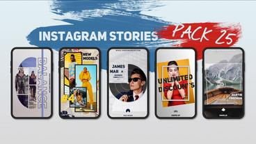 Instagram Stories Pack 25 After Effects Template